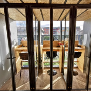 Bubble cabine individuelle call visio coworking